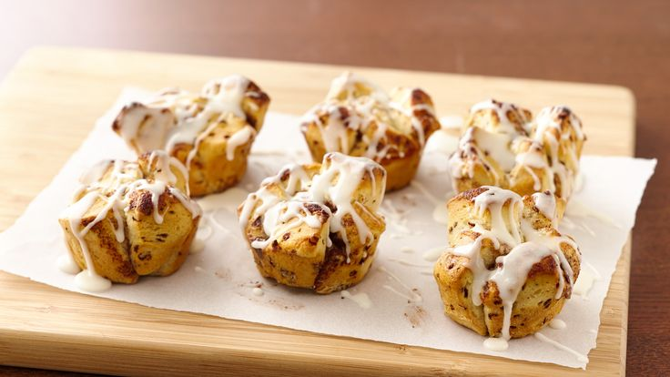 Easy Mini Monkey Breads recipe and reviews - Monkey around without all the fuss. These mini monkey breads are made from just one ingredient--Pillsbury™ cinnamon rolls!