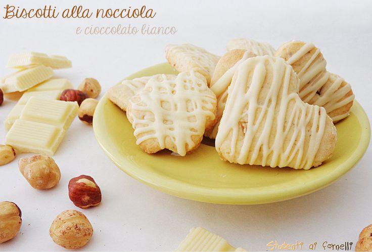Biscotti alle nocciole e cioccolato bianco - studenti ai fornelli