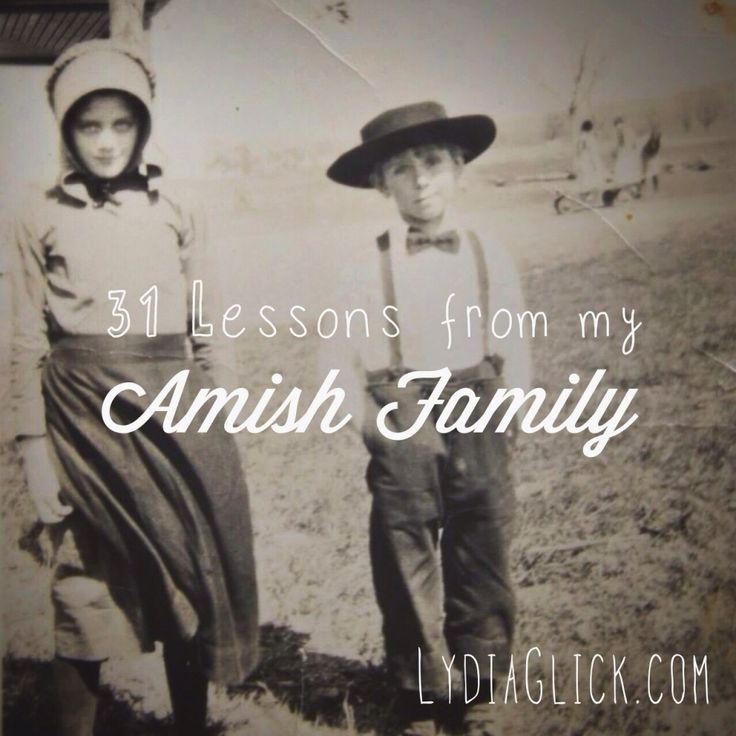 This is my first year to take up the Nester's challenge of writing on one topic for 31 days during the month of October. My blog is named Lydia Glick in honor of my two Amish grandmothers, an…