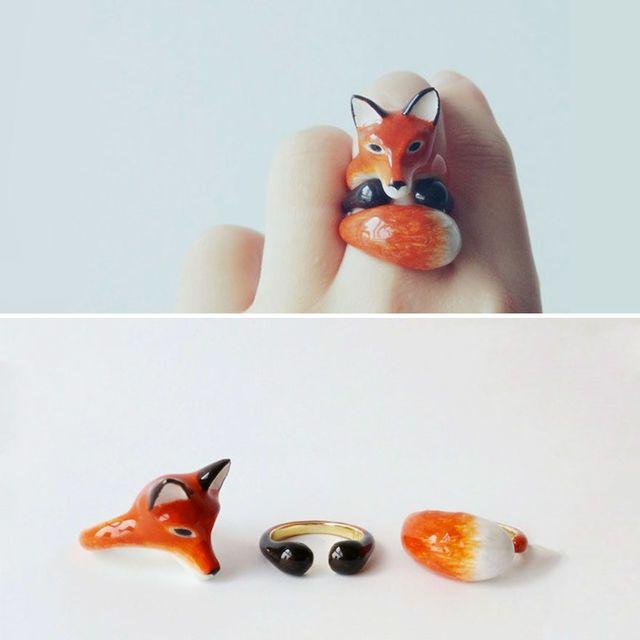 3-teilige Ringe, die sich an den Fingern in süße Tiere verwandeln   Playbuzz