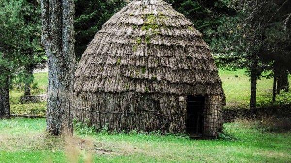 Sarakatsans tribal settlement in Zagori
