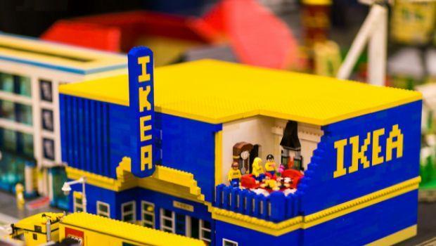 L'Ikea in versione Lego, ovvero il mondo dei mobili di mattoncini