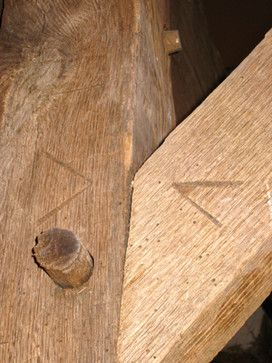 wood frame, nailess joint