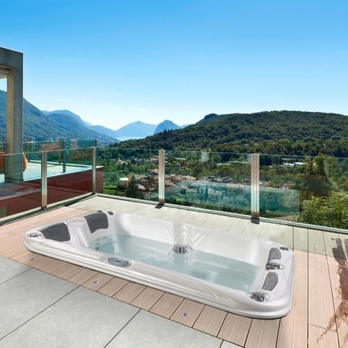 1000 id es sur le th me jacuzzi 4 places sur pinterest for Jacuzzi d exterieur