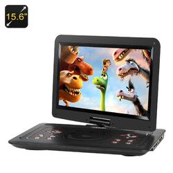 Key Features... - Wide Screen 15.6 inch portable DVD player shows movies in their best format - 270 Degree swivels screen means you can find the best angles to share the fun - Region free support allo