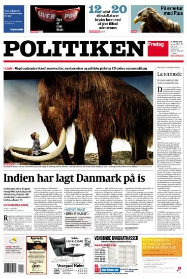 Designers: Ally Palmer and Terry Watson Publication: Politiken Nation: Denmark