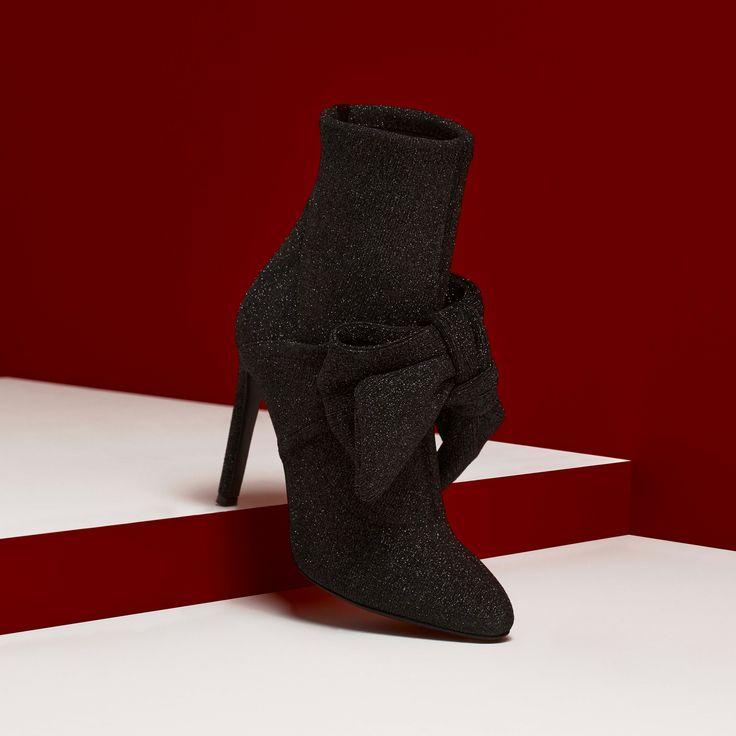 Black magic. The JOSEPHINE, fall's stiletto bootie. #GiuseppeZanotti #GZFW17