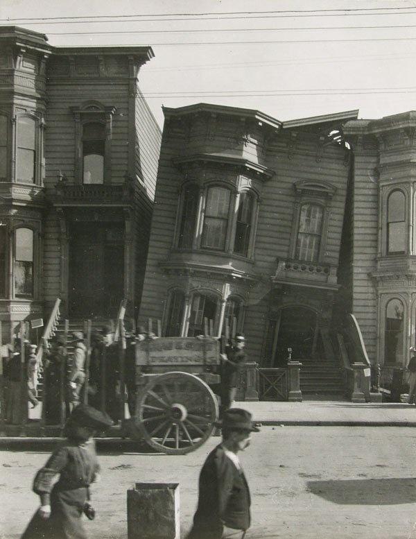 U.S. San Francisco´s earthquake, 1906 // by Arnold Genthe