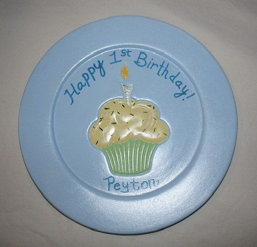 A custom birthday plate! Pen included so your guests can sign the edge of the plate! You could always bring this as a gift/card for everyone to sign. Perfect to hang on the wall or place in a plate holder. What a special way to remember a SPECIAL day!!!!!    FOR DECORATIVE PURPOSES ONLY!    Convo me and we can talk colors! http://www.etsy.com/shop/familymosaic $26: Etsy Open, Personalized Birthday, Color, Decorative Purposes, Place, Custom Birthday, Pen Included, Birthday Plate