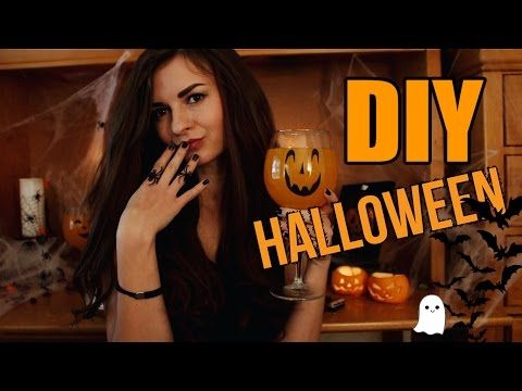 DIY Halloween l Декор и Угощения на Хеллоуин Своими Руками - YouTube