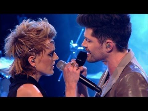 Danny and Bo duet 'Read All About It' - The Voice UK - Live Finals - BBC One  Wow, they are so amazing together.