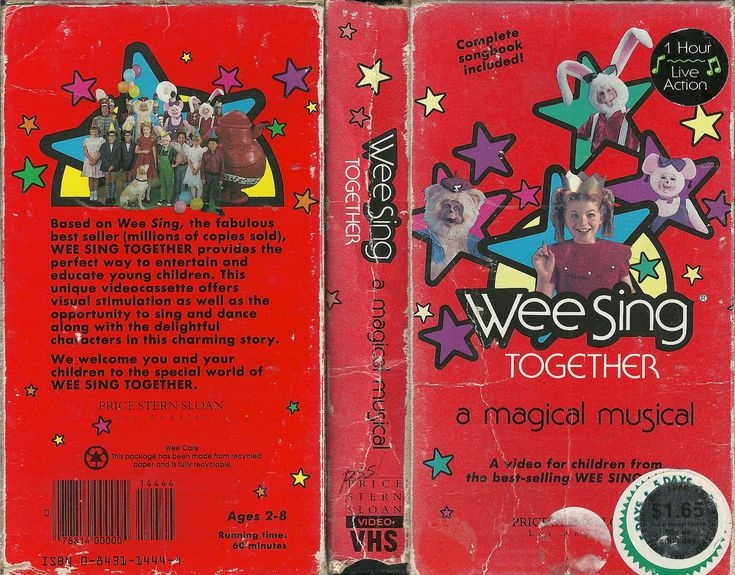 Wee Sing Together DVD/video cover   Dollhouse minis   Girl ...