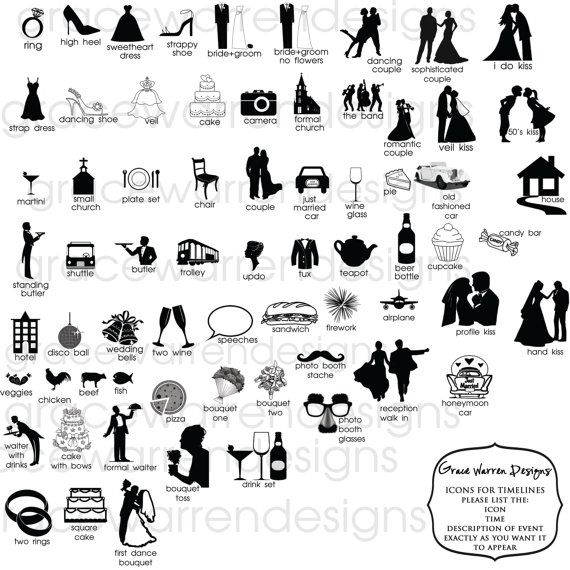 clipart wedding timeline free - photo #50
