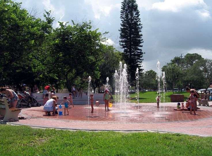 Intergenerational fountain park , Centennial Park, Venice ,Florida - Google Search