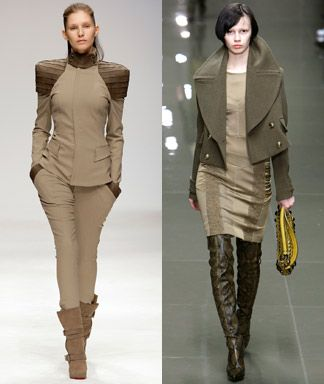 Fall 2010 Fashion Week: London #military #jacket