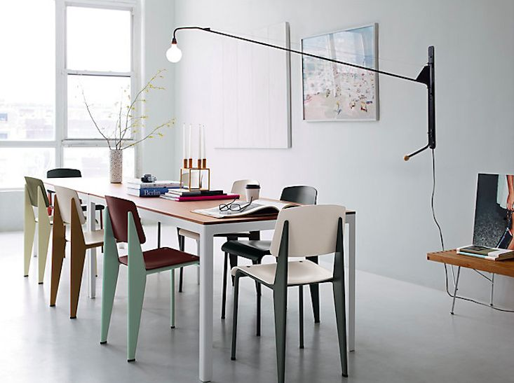 Jean Prouvé and Charlotte Perriand Potence Lamp