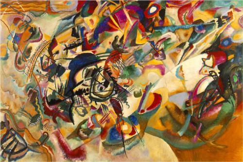 Composition VII - Wassily Kandinsky 1913 The State Tretyakov Gallery, Moscow, Russia