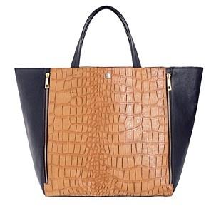 Red Herring Tan mock croc shopper bag - Shopper & tote bags - Handbags & purses - Women - Debenhams Mobile