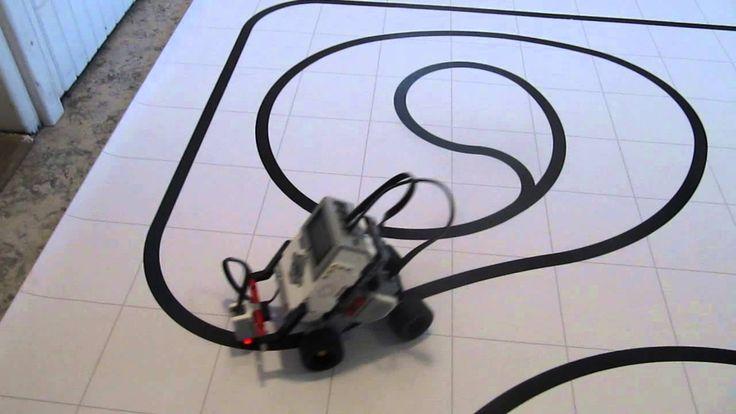 Lego Mindstorms EV3 - Four-Wheel Line Follower