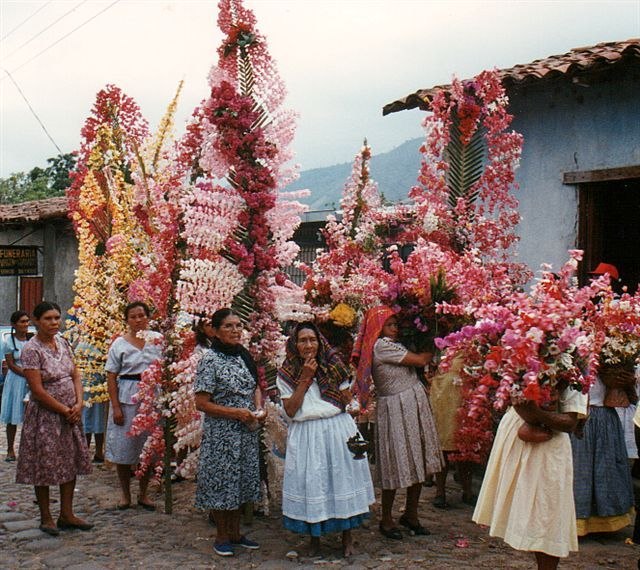 Before the Procession - Panchimalco, San Salvador.-El Salvador