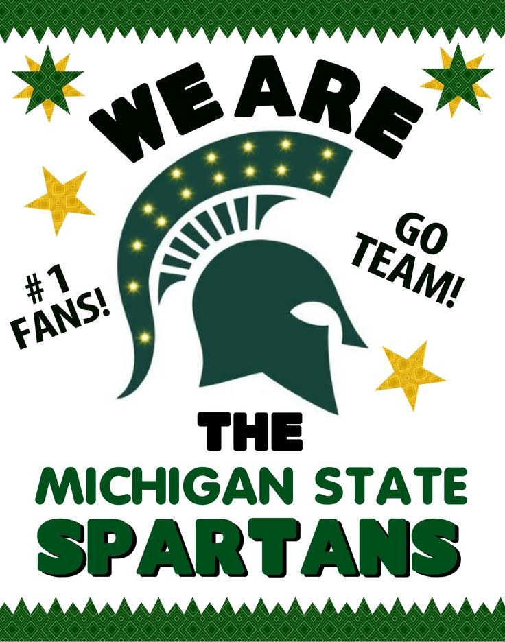 Michigan State Spartans Poster Idea