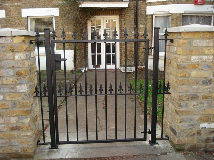 Single Leaf Short Gates Are Metal Most Commonly Seen In Front Gardens KP Engineering Make Bespoke And Made To Measure Delivered Across The UK