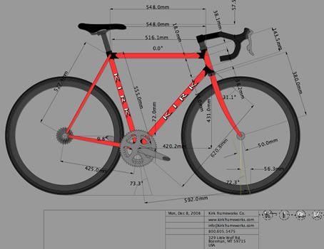 Kirk Frameworks Custom Bicycles