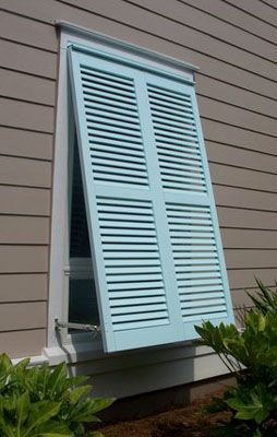 Charleston based shutter company that offers bahama shutters. 100 color options.