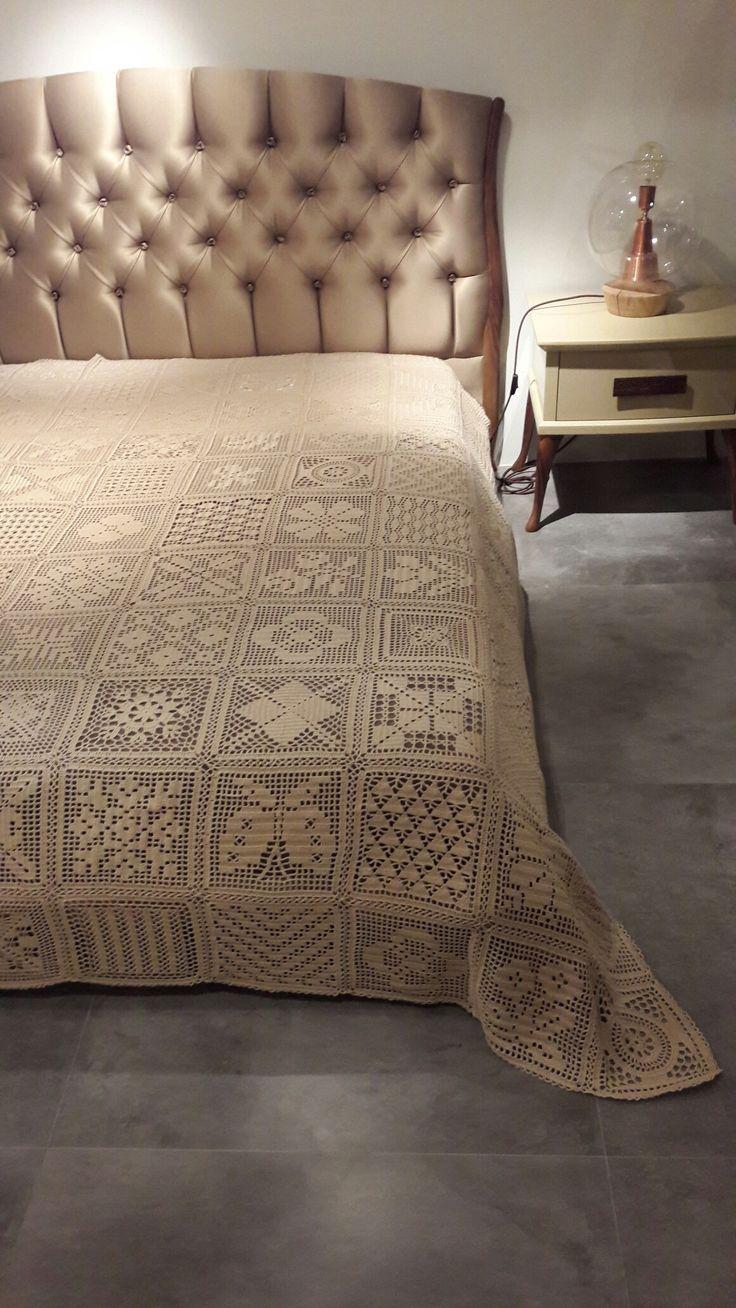 Benim ördüğüm yatak örtüsü