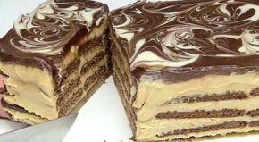 Er bestaan talloze varianten van taarten met koekjes, maar deze versie met karamel laat die taarten ver achter zich! Meng de gecondenseerde melk met mascarpone en plaats in koffie gedrenkte koekjes in een cakevorm. Breng hier een laagje van het mascarponemengsel op en werk zo een aantal lagen af. Bedek de bovenste laag met gesmolten …