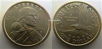 2001-P Uncirculated Sacagawea Dollar