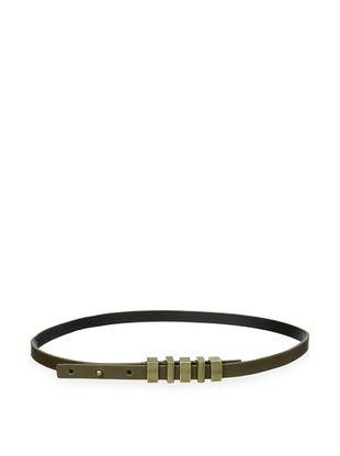 Nanette Lepore Women's High-Waist Vachetta Belt