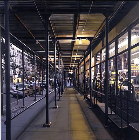 Supermarket, Columbus Avenue - Richard Estes