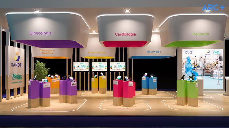 Exhibit Design, Sanofi & Medley on Behance