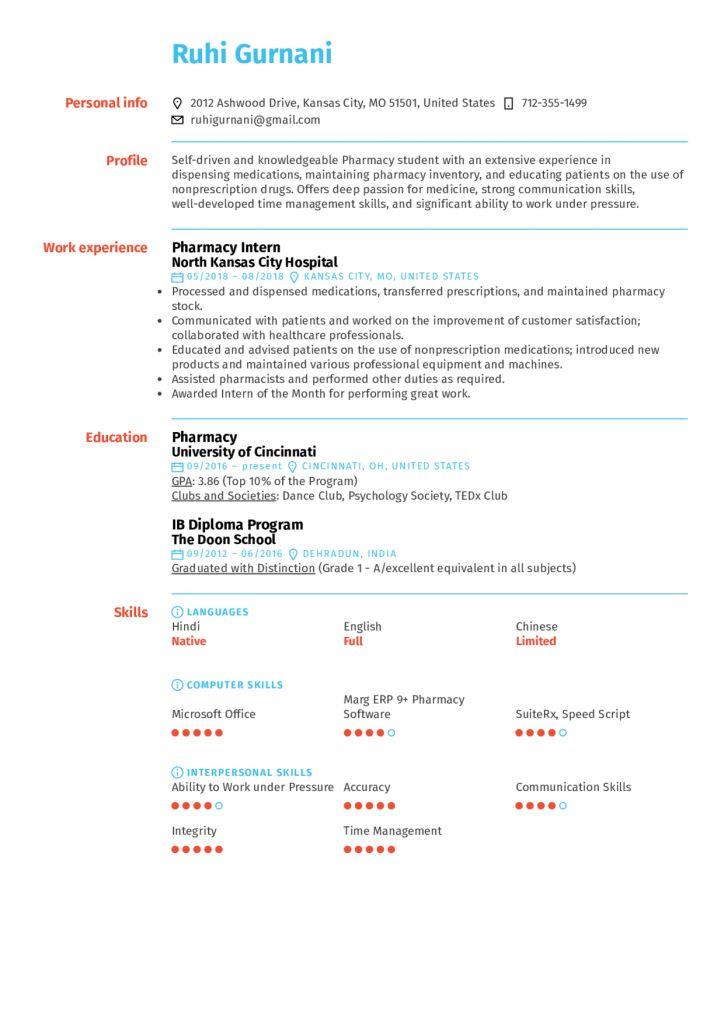 M Pharm Resume Format 2021 In 2021 Resume Format Resume Standard Cv Format