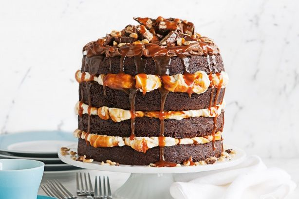 Chocolate Caramel Poke Cake Coles