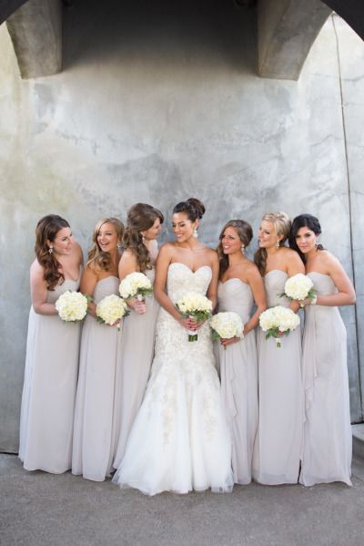 57 best Style: Strapless Bridesmaids Dresses images on Pinterest ...