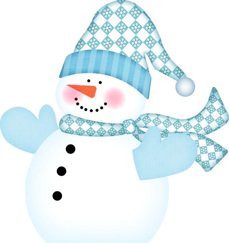 WINTER SNOWMAN | CLIP ART - SNOWMAN - CLIPART | Pinterest ...