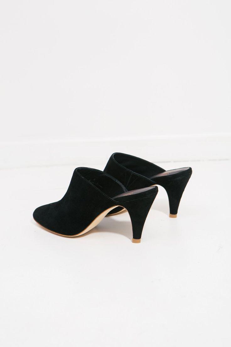 Black Paula Mid Heel