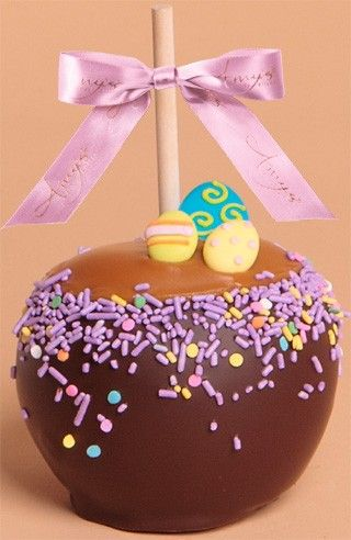 52 best spring easter gifts images on pinterest belgian dunked caramel apple w dark belgian chocolate candy eggs all of our gourmet negle Gallery