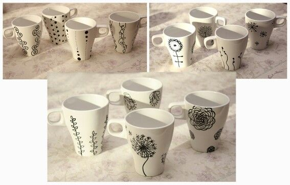 My DIY mugs ...:)