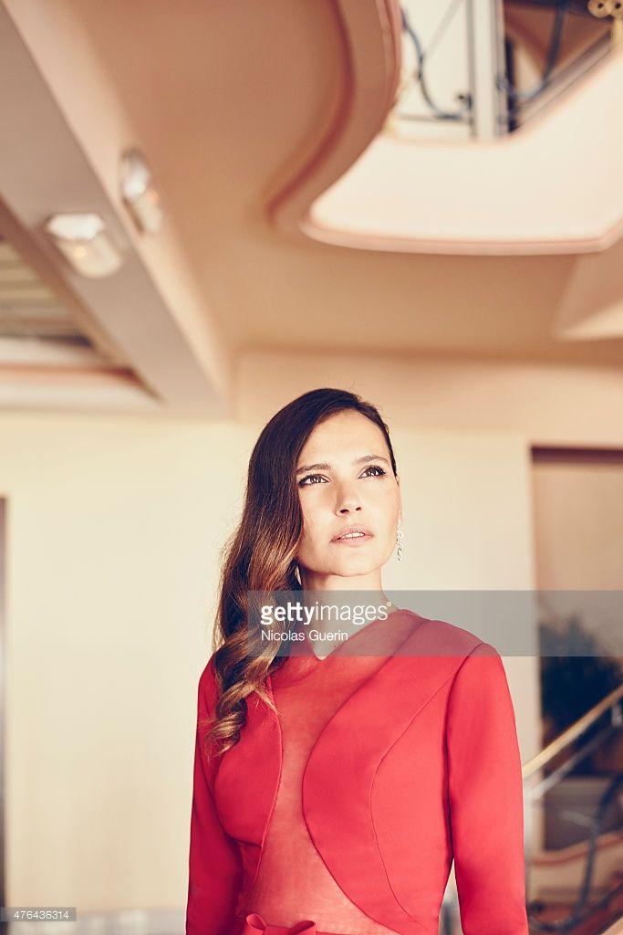 Photo d'actualité : Actress Virginie Ledoyen is photographed for Self...