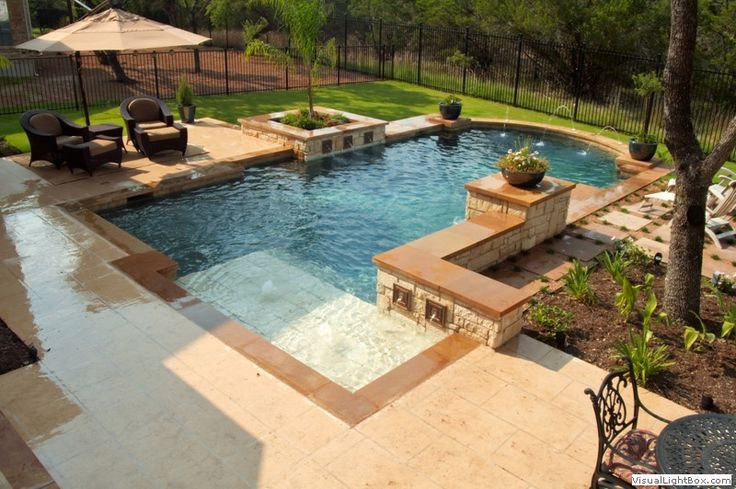 176 best pools images on pinterest swimming pools for Pool design austin