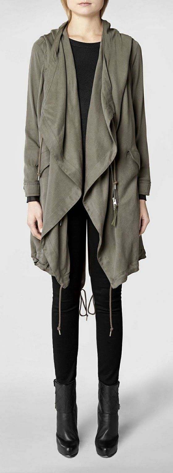 All Saints Portere Parka Jacket.