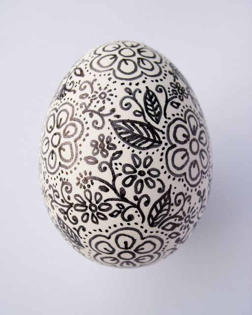 I wonder if this would work on a chalk painted egg?