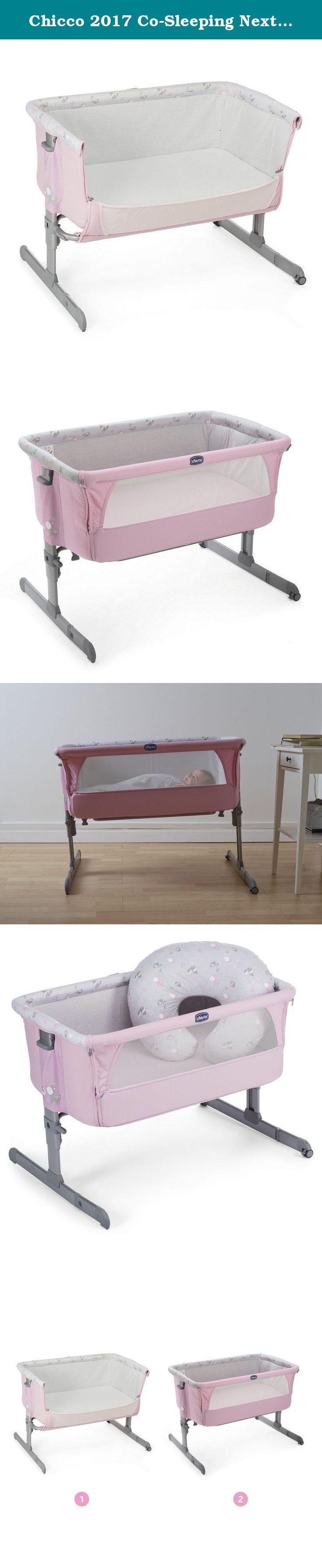 Chicco 2017 Co-Sleeping Next2Me Princess. berry Next2Me cradle Cradle Next2Me, everyone is happy. Space dedicated to sleep and dormitine where chasing wonderful dreams or exchanging smiles with mom and dad, the cradle is not only an essential accessory for any parent but also the environment that aims to transmit to the baby protection and safety from the earliest months, making the transition from the womb to the sweetest ectopic, natural and gradual. Designed to strengthen the bond…