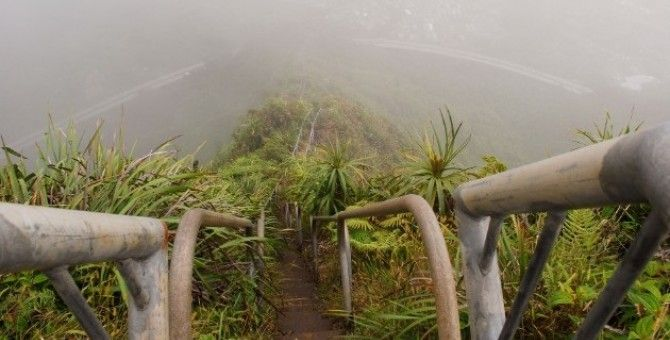 The world's scariest stairs part 12