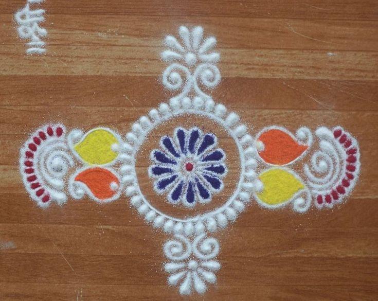 Rangoli Designs for Holi Festival