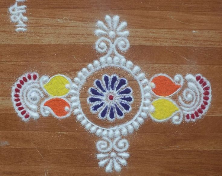 Rangoli Designs for Holi Festival