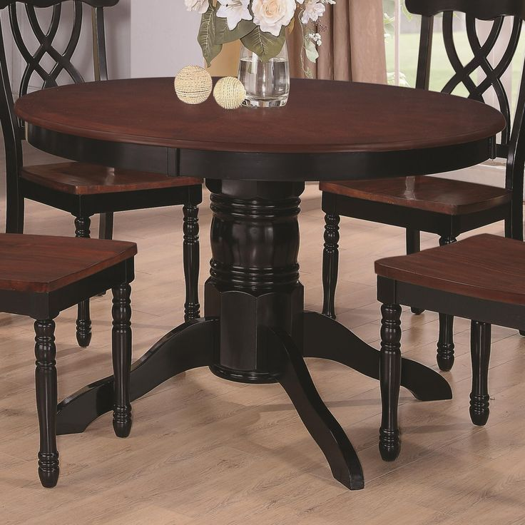 Black Family Diner 3 Piece Corner Dining: Best 25+ Two Tone Table Ideas On Pinterest